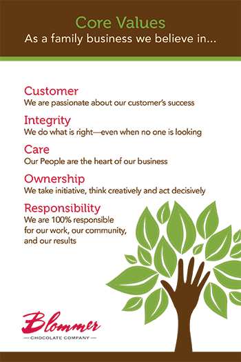 Blommer Core Values